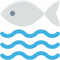 fish, goldfish, river, seafood, water icon