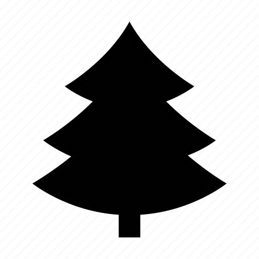 Christmas Tree Facebook Icon: Christmas Tree, Evergreen Tree, Fir Tree, Pine Tree, Tree Icon