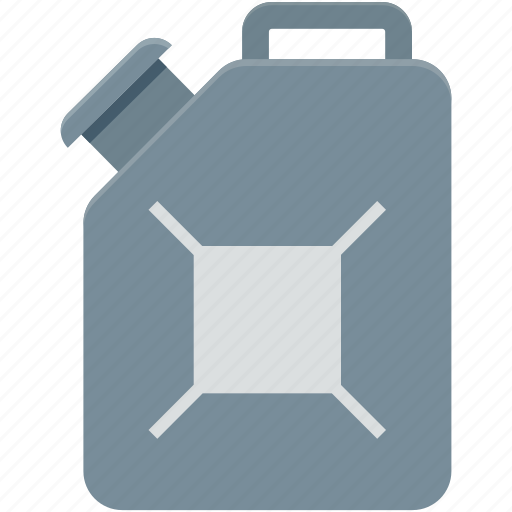 fuel can, gas can, gas container, gasoline can, jerry can icon