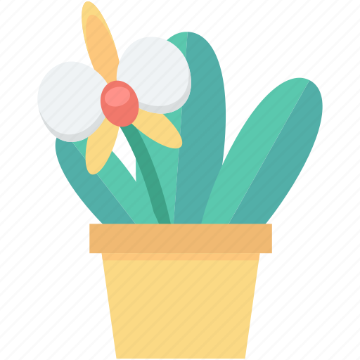 foliage, gardening, growing plant, plant, pot, potted plant icon
