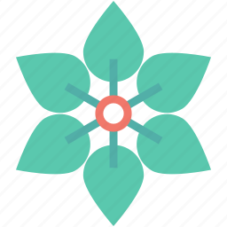 foliage, greenery, leaves, leaves flower, tree leaf icon