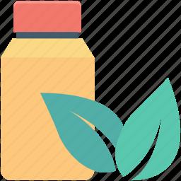 bio, botany jar, ecology, jar, leaf icon