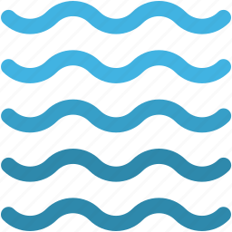 ocean, river, sea, water, water waves icon
