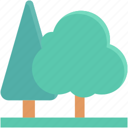 ecology, fir tree, forest, garden, trees icon