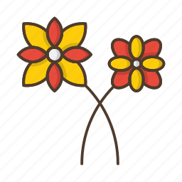 flower, flowers, garden, nature, plant icon