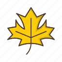 ecology, green, leaf, maple, nature, plant icon