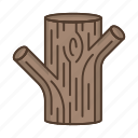 bark, boughs, forest, nature, plant, tree, trunk icon