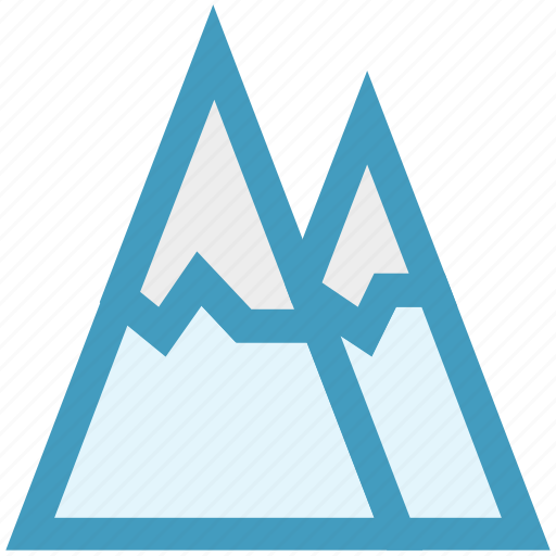 hills, landscape, mountain, mountains, nature, park icon