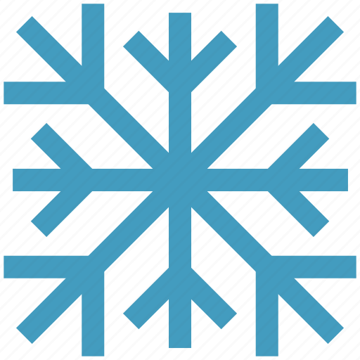 cool, flake, nature, snow, winter icon