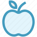 apple, fitness, food, fruit, healthy fruit, nature icon