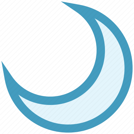 moon, nature, night, sky, weather icon