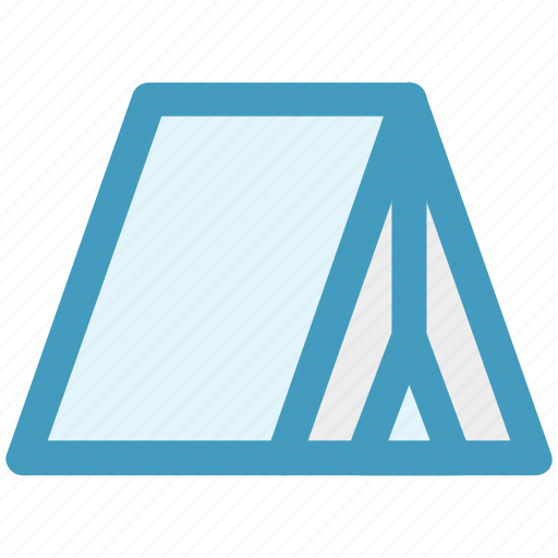 Camp, camping, nature, park, picnic, tent icon - Download on Iconfinder