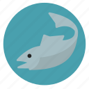 fish, fishing, marine life, nature, sea icon