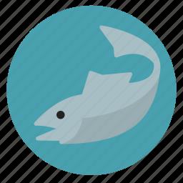 fish, fishing, marine life, nature, sea icon