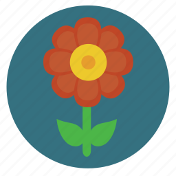 flower, nature, plant, red icon