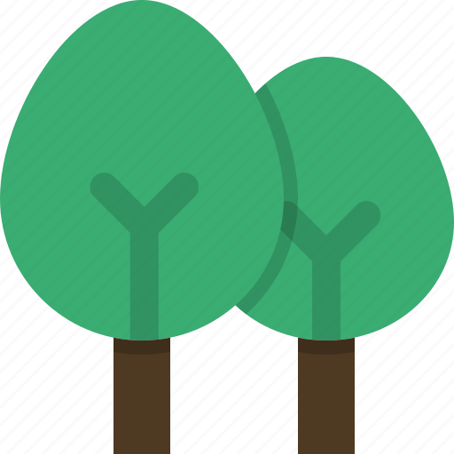 decidious, ecology, environment, forest, nature, trees icon
