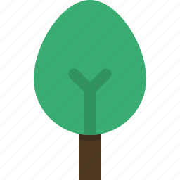 decidious, ecology, environment, nature, tree icon