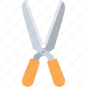 clipper, garden shear, pruning, scissor, shear icon