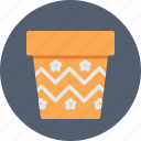bucket, gardening, pail, plant pot, pot icon