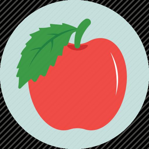 apple, diet, food, fruit, organic icon