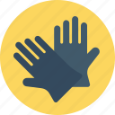 cleaning, gardner gloves, gloves, hand, mitten icon