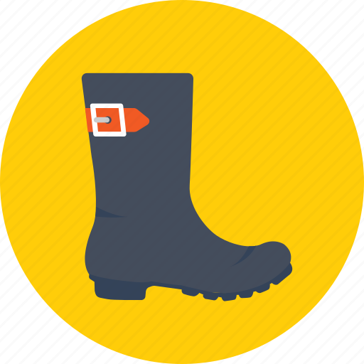 clogs, footwear, gardener boot, long boots, shoes icon