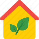 eco, eco house, green house, home, house icon