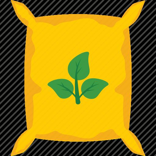 bag, fertilizer, sack, seed bag, seeds icon