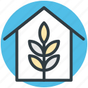 ecology, flower nursery, greenhouse, greenness, nature icon