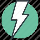 flash sign, lightning, thunder, thunderbolt