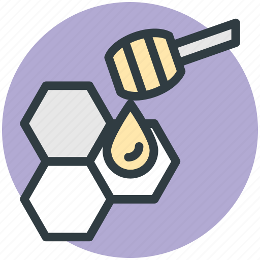 drizzler, honey dipper, honey dripping, honey pouring, sugar icon