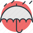rain protection, raining, rainy weather, umbrella, weather