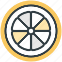 diet, food, fruit, healthy, orange slice icon