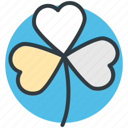 clover, nature, plant, shamrock, three leaf clover icon