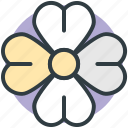 clover, four leaf clover, nature, plant, shamrock icon