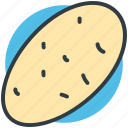 food, nature, organic food, potato, vegetable icon