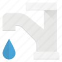 clean, cleaning, drinkable, drop, water icon