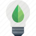 bulb, eco, light icon