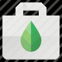 bag, eco, leaf, nature, recyle, shopping