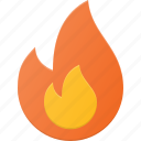 burn, fire, flame, forest icon