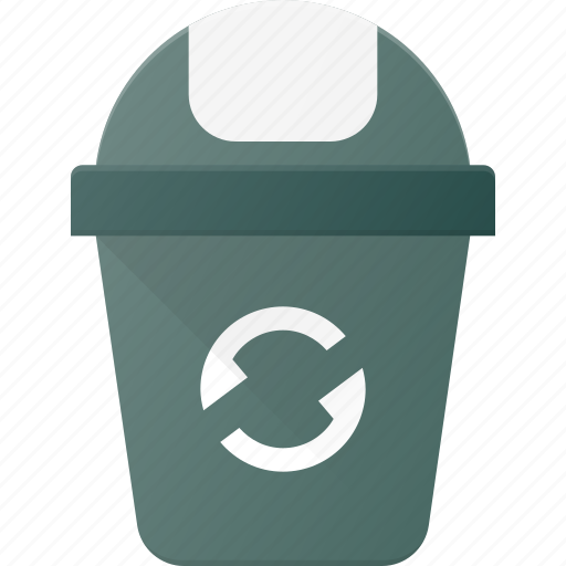 Bin, can, garbidge, recycle, trash, waste icon - Download on Iconfinder