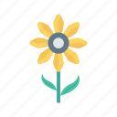 bloom, flower, garden, nature, park icon