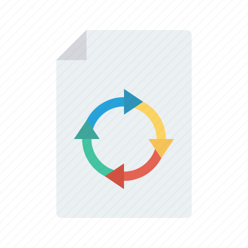 Document, file, recycle, redo, refresh icon - Download on Iconfinder