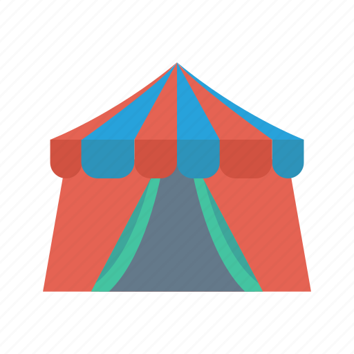 Camping, circus, festival, shelter, tent icon - Download on Iconfinder