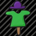 bugaboo, field scarecrow, scarecrow, scary person, strawman