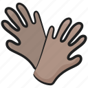 gardening gloves, gloves, handgear, handpiece, handwear, mitten