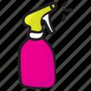 pesticide shower, plastic bottle, spray bottle, sprayer, water spray