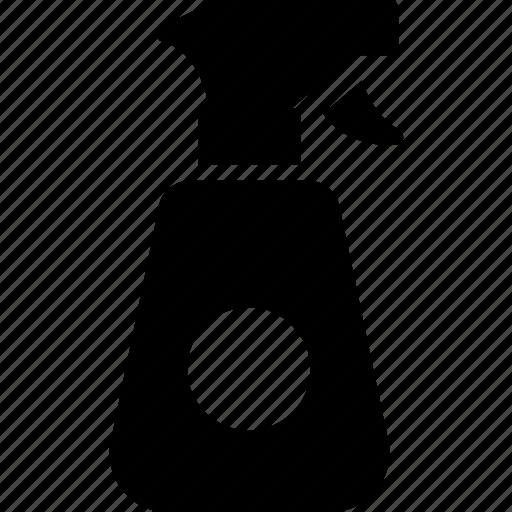 bottle, shower bottle, spray, sprayer, watering icon