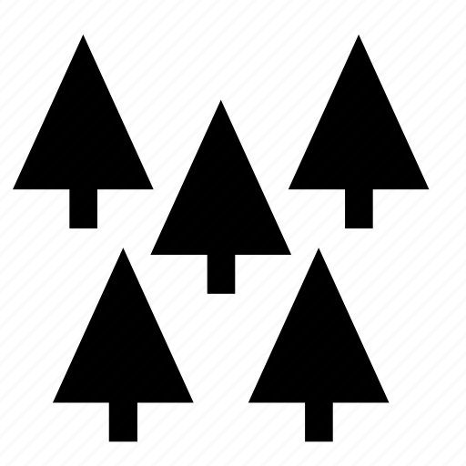 christmas, fir, forest, nature, tree icon