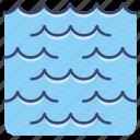 ocean, sea, water, waves